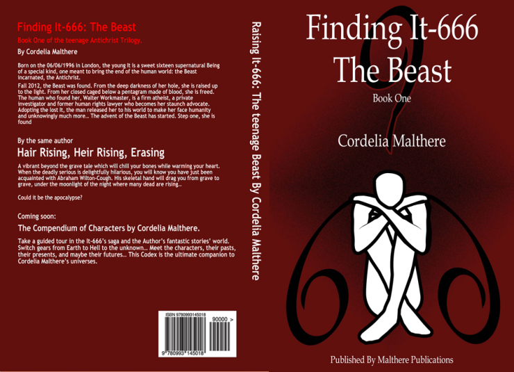 Finding IT-666 The Beast book cover